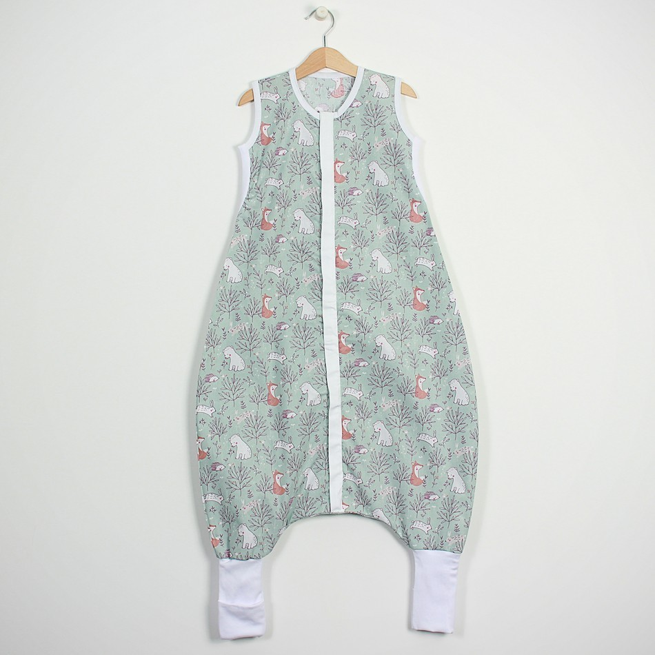 """Summer sleeping bag with feet """"Forest..."""